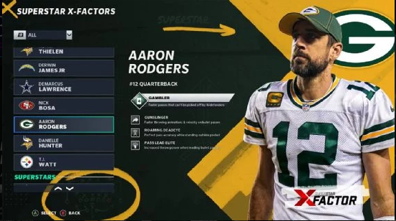 X-Factors Are Returning in Madden 22