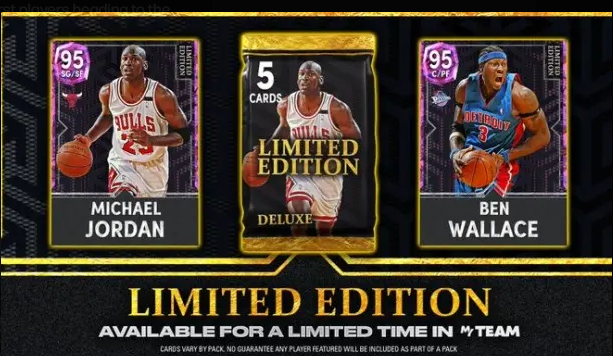 NBA 2K22- the Limited Edition Packs Are on the Way to MYTEAM